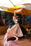 Танцулька гаучо в Буэнос-Айрес Стоковое Фото