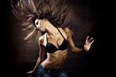 танцулька горячая стоковая фотография rf
