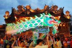 Танцулька дракона стоковые фотографии rf