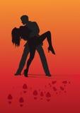 танцулька запальчиво Стоковое Фото