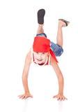 танцулька мальчика немногая Стоковое Изображение RF