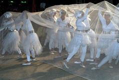 танцулька масленицы самомоднейшая Стоковая Фотография