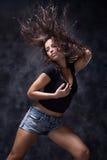 танцулька одичалая стоковая фотография