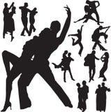 танцулька пар Стоковые Фото