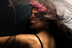 танцулька под вуалью Стоковая Фотография RF