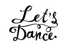 танцулька препятствует Письменное слово руки на белизне Стоковое фото RF