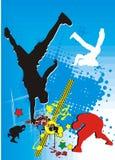 танцулька пролома стоковые изображения