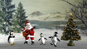 танцулька рождества иллюстрация штока