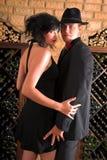танцулька романтичная стоковые фото