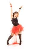 танцулька эмоциональная Стоковое Фото