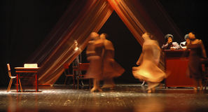 танцулька 7 самомоднейшая Стоковые Изображения