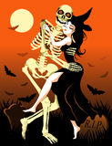 танцулька halloween Стоковое фото RF