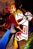Танцулька Kuda Kepang Стоковые Фото
