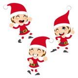 Танцулька Santa Claus иллюстрация штока