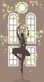 Танцульки женщины стоковое фото