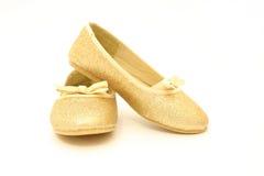 танцуя блестящие ботинки Стоковая Фотография