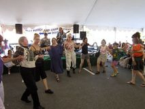 танцуя греческое нот к Стоковые Фото