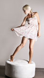 танцуя платье Стоковые Изображения