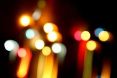 танцуя светлые штриховатости стоковое фото rf