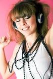 танцуя сексуальная женщина Стоковая Фотография RF