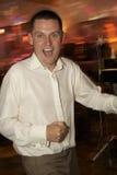 танцуя groom Стоковая Фотография