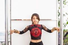 танцулька готовая к Стоковые Фотографии RF