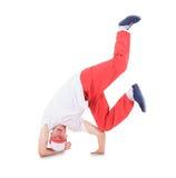 Танцулька пролома танцы подростка в действии Стоковое Изображение