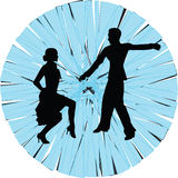 танцулька иллюстрация вектора