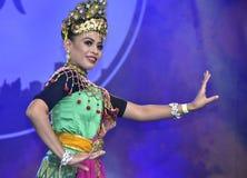 Танцулька Mak yong Стоковая Фотография
