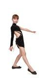 Танцы латыни девушки танцуя Стоковое фото RF