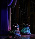 танцы бального зала Стоковое Изображение