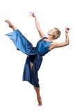 Танцы девушки Стоковые Изображения