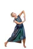 Танцы девушки Стоковое Изображение RF
