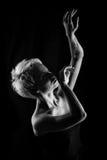 Танцы девушки Стоковое Фото
