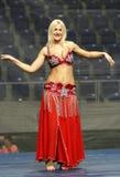 Танцы живота Стоковая Фотография