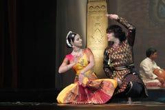 Танцы Индии Стоковая Фотография RF