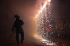 танцы клоуна Стоковое Фото