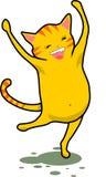 танцы кота Стоковые Фотографии RF