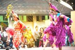 Танцы крана традиционные южные тайские Стоковые Изображения