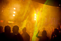 Танцы людей Стоковые Изображения