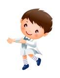 Танцы мальчика Стоковая Фотография RF