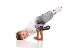 Танцы мальчика Стоковые Фото