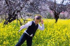 Танцы мальчика Стоковое Изображение RF