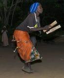 Танцы ночи Стоковая Фотография