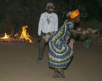 Танцы ночи Стоковая Фотография RF