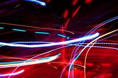 танцы освещает tres Стоковое Фото