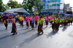 Танцы парада Стоковое Изображение