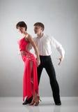 танцы пар Стоковые Фотографии RF