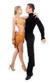 танцы пар стоковая фотография rf