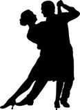 Танцы пар Стоковое фото RF